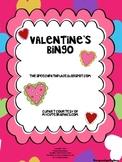 Valentine Vocabulary Bingo Reinforcer