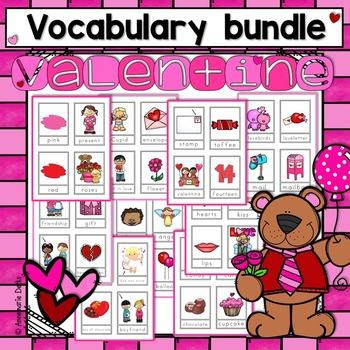 Valentine Vocabulary  ~Bundle~