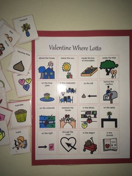 Valentine Where Is It? Lotto Game