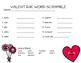 Valentine Word Scramble