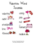 Valentine Word Scramble