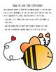 Valentine Writing and Bee Craftivity