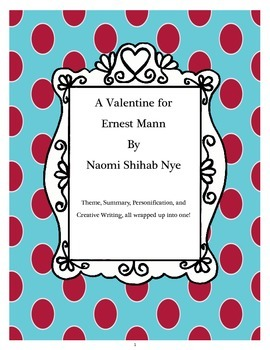 """""""Valentine for Ernest Mann"""" Poetry Study and Creative Writ"""