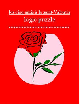 Valentine logic puzzle FRENCH