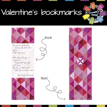 Valentine's Bookmarks