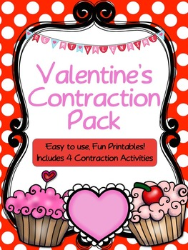 Valentine's Contractions Pack