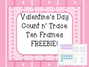 Valentine Count n' Trace FREEBIE!