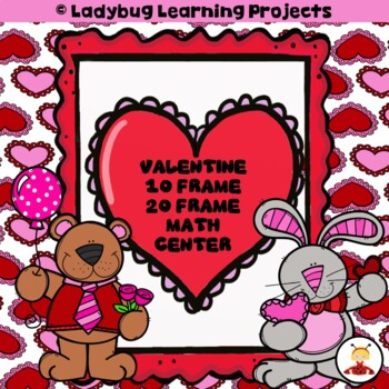 Valentine's Day 10/20 Frames (Math Center)