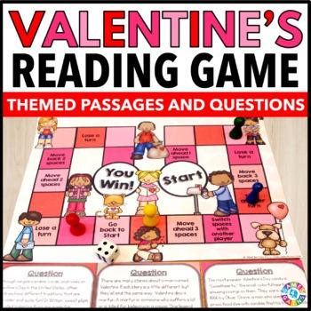 Valentine's Day Activity: Valentine's Day Reading Game