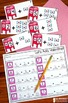 Valentine's Day {6 Pack Centers} Math and Literacy for Kin
