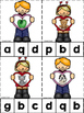 Valentine's Day ABC's & 123's Clip Cards {NO DITTOS}