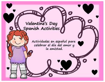 Valentine's Day Activities in Spanish