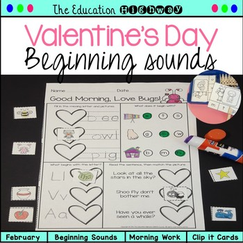 Valentine's Day Beginning Sounds