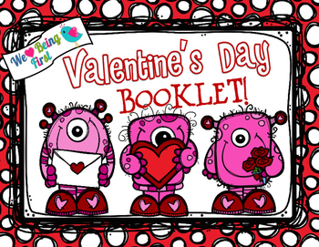 Valentine's Day Booklet - Glue Your Valentines Inside to M