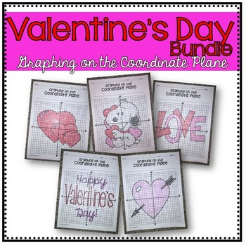Valentine's Day Bundle (Graphing on the Coordinate Plane M