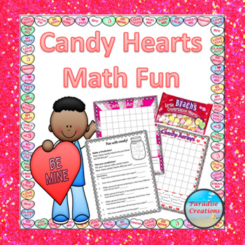 Valentine's Day Candy Counts: Sorts, Graph, Experiment & O