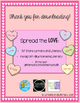 Valentine's Day Candy Hearts Graphing FREEBIE