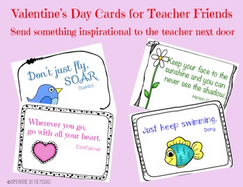 Valentine's Day Card for Teachers