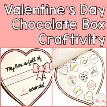 Valentine's Day Chocolate Box Craftivity
