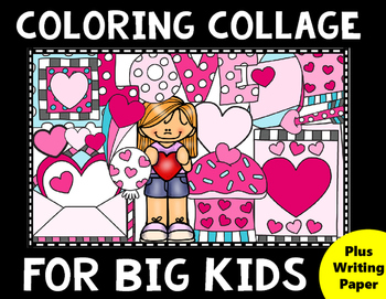 Valentine's Day Coloring for Big Kids