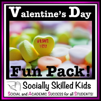 Valentine's Day Compliment Cards and Word Search Fun Pack