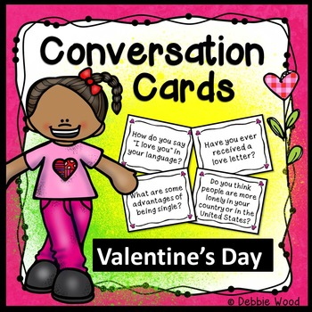 Valentine's Day Conversation Cards with Directions for Min
