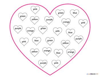 Valentine's Day Conversation Hearts Candy Activities(FREE)