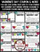 Valentine's Day Coupon Booklet {EDITABLE}
