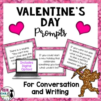 Valentine's Day Discussion and Journal Writing Prompts