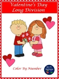 """Valentine's Day """"Division"""" Color by Number"""