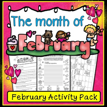 Valentine's Day/ February Fun Pack (ESL)