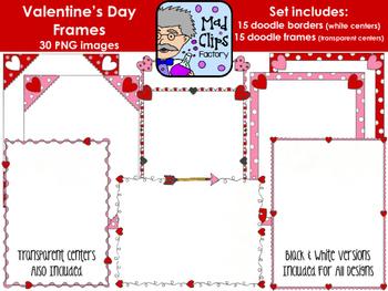 Valentine's Day Frames