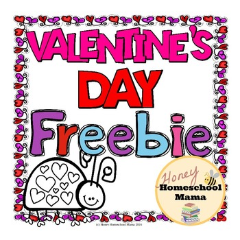Valentine's Day Freebie - Coloring Pages