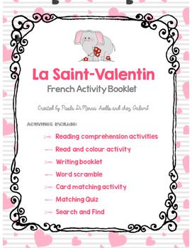 Valentine's Day French Booklet - La Saint Valentin (French/FSL)