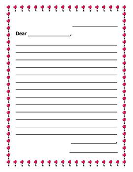 Valentine's Day Friendly Letter Freebie
