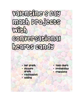 Valentine's Day Graphs with Conversational Hearts