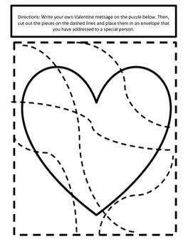 Valentine's Day Heart Puzzle