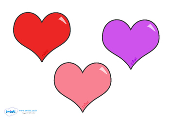 Valentine's Day Heart Template