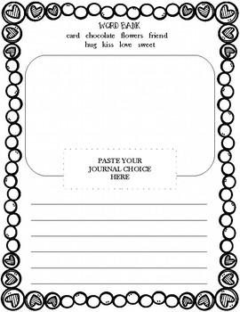 Valentine's Day Journal Prompt