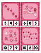 Valentine's Day Little Monster Math center Clip Cards coun