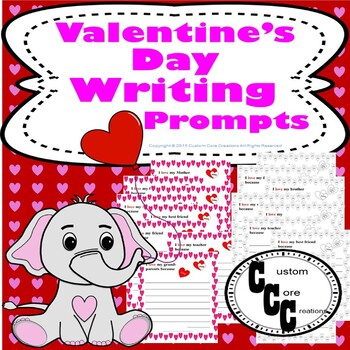 Valentine's Day Love Writing Prompts