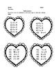 Valentine's Day MATH: Add, Subtr., Multiply, Divide, Place