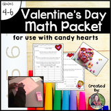 Valentine's Day Math Packet