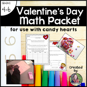 Valentine's Day Math Packet