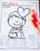 Color By Numbers St. Valentine's Day Math Division Bundle