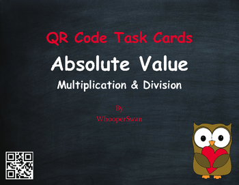 Valentine's Day Math: Absolute Value - Multiplication & Di