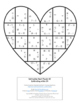 Valentine's Day Math: Subtraction Heart Puzzles