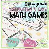 Valentine's Day Math Games- 5th Grade CCSS
