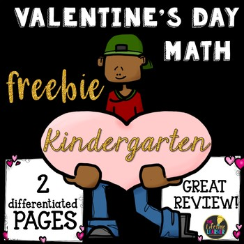 Valentine's Day Math Kindergarten FREEBIE