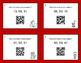 Valentine's Day Math: Mean QR Code Task Cards